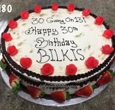 Birthday Cake 80
