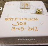 Christening Cake 2