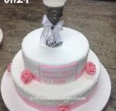 Christening Cake 24