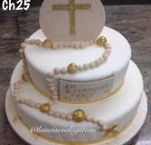 Christening Cake 25