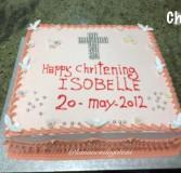 Christening Cake 4