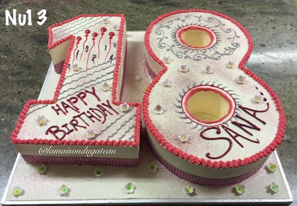 Number La Maison Du Gateau Cake In Harrow Road Cake And Sweets